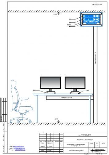 проект системы видеонаблюдения в жилом доме